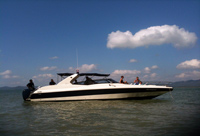 Searunner VIP speedboat