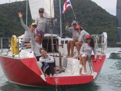 Sailescapes Ladies Team Phuket Race Week
