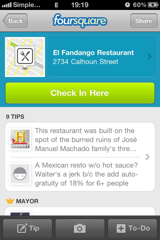 Why Is The History Channel On Foursquare?