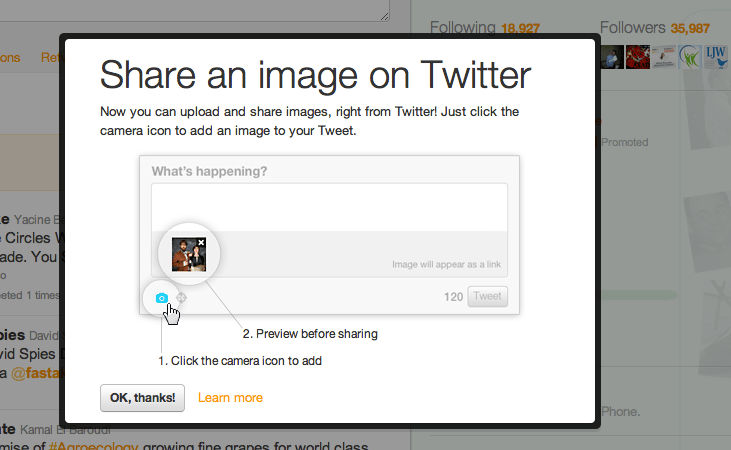 Twitter Now Allows Direct image upload  FasTake