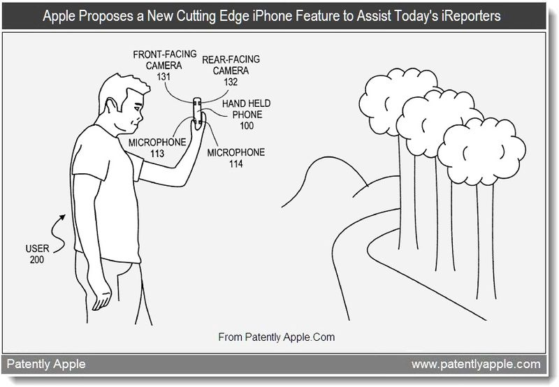 Apple Patents New iPhone Features for Today's Citizen Journalists