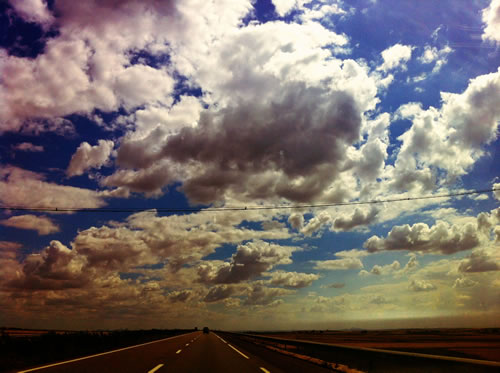 On the Road by Yacine Baroudi
