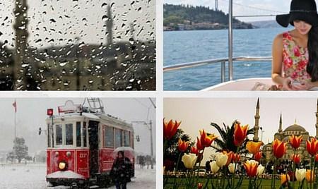 الطقس في اسطنبول وأفضل أوقات الزيارة