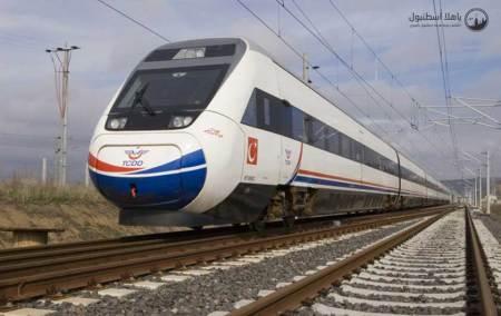 افتتاح القطار السريع بين اسطنبول و أنقرة