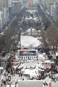 札幌雪祭りの日程。イベントスケジュールと雪像の画像