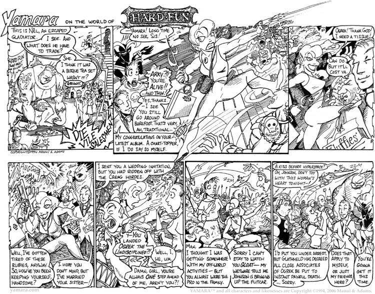 Hard Fun 2: Arcalula– Space Danger Cyborg Halfling!