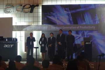 acer solution day 2011 indonesia - stage