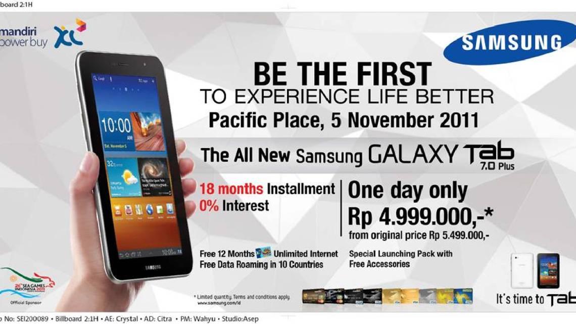 Samsung Galaxy Tab 7 Plus Promo 2