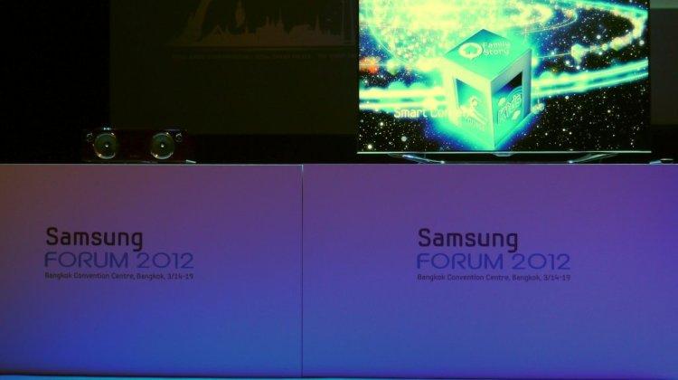 samsung forum 2012 stage