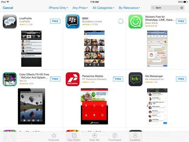Tips: Cara Mudah Menggunakan BBM di iPad
