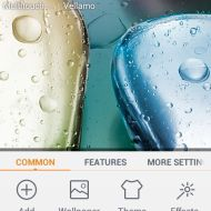 screenshot theme setting lenovo a390 1
