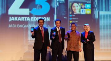 blackberry z3 launch 2