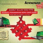 Lenovo Hadirkan Promo Spesial Menyambut Lebaran 2014