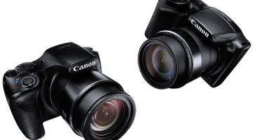 canon Powershot SX520 HS dan SX400 IS