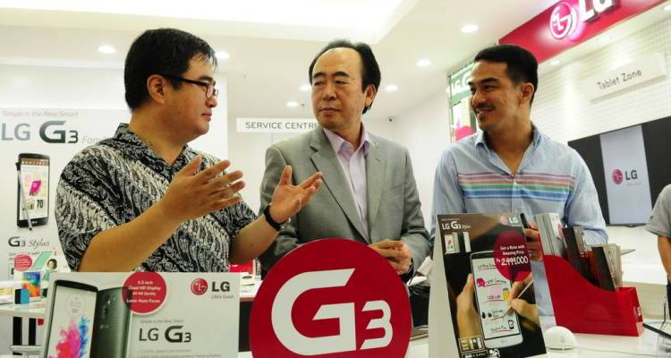 LG Mobile Store opening Gandaria Des 2014