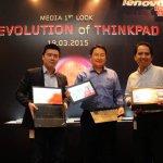 Tiga Lenovo ThinkPad Tercanggih untuk 2015 Hadir di Indonesia