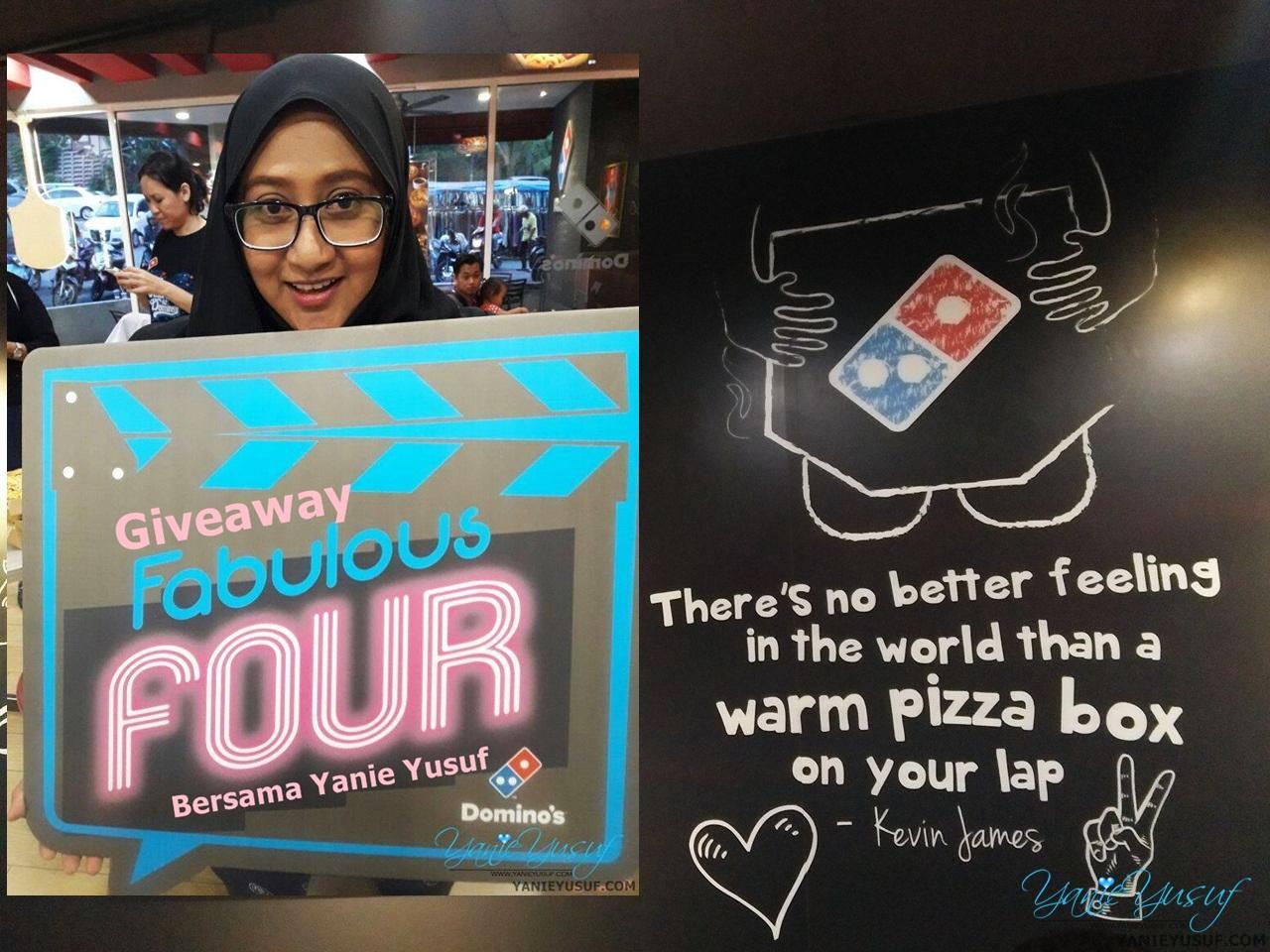 Fabulous Four Terbaru Dari Domino's Pizza Malaysia