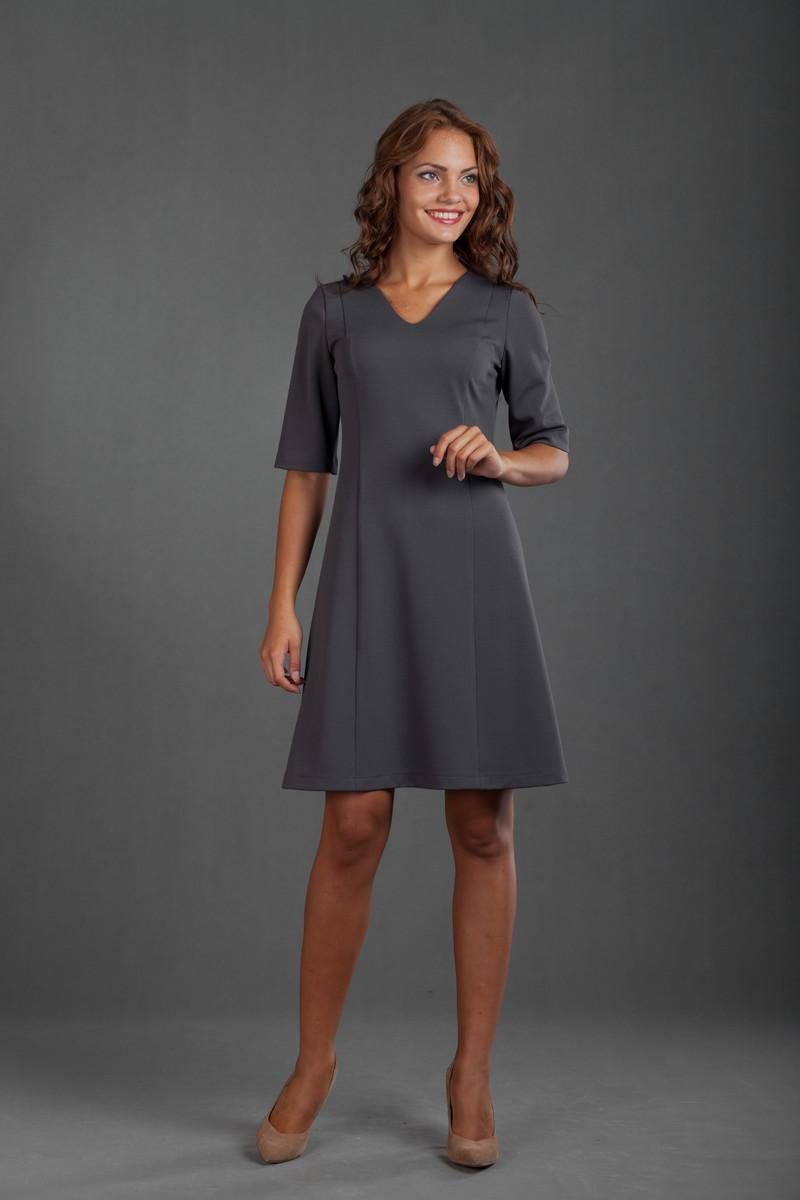 Платье трапеция для полных девушек и
