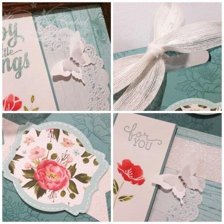 Birthday Blooms Framed Art Gift Set SP