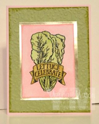 Lettuce Celebrate by Yapha