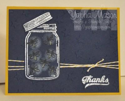 Jar of Fireflies by Yapha