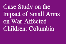 War Affected Children Columbia