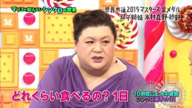 テレビ引用画像「どのくらい食べるの?1日」