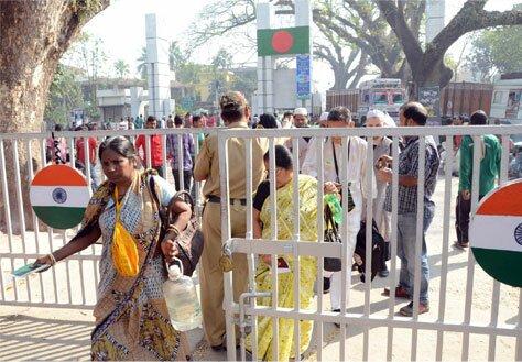 проход между Индией и Бангладеш
