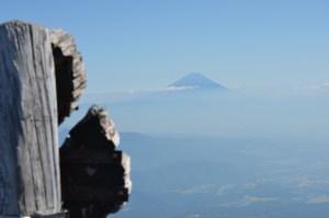 赤岳山頂から