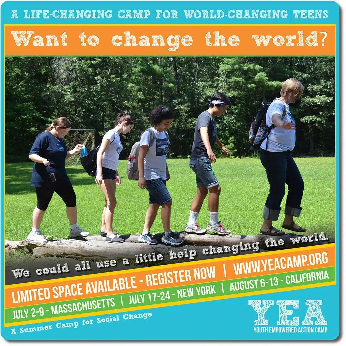 YEA Promo - Change World - Log