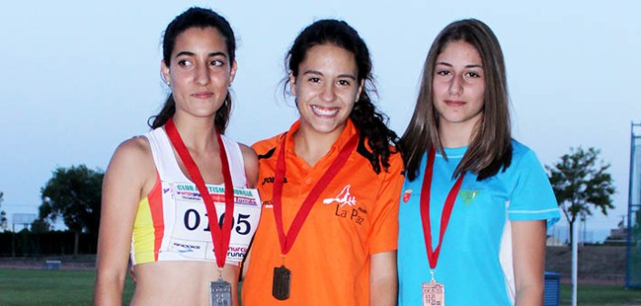 Lorena Romero, campeona de triple salto  / ADA Yeclano