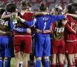 La Selección, conjurándose para vencer a Venezuela / Fifa.com