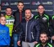 Valero, junto a miembros del equipo ciclista Israbikes / Facebook Israbikes