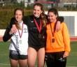 Esther Borrás sustituyó a Nerea en el podio / ADA Yeclano