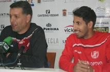 Sandroni y Vivanco en sala de prensa / Á. Ayala