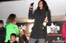 Fini, en el podio en Murcia / CFY