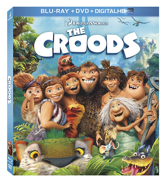 The Croods Blu-ray Prize Pack GIVEAWAY (US/CANADA) #TheCroodsDVD