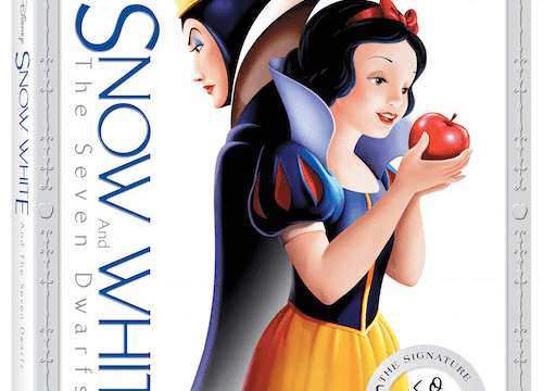 Snow White and the Seven Dwarfs on Blu-ray & DVD