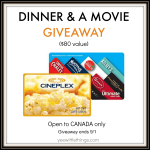 Dinner & A Movie Prize Pack GIVEAWAY