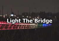 High Level Bridge Lights Up for Queer Community