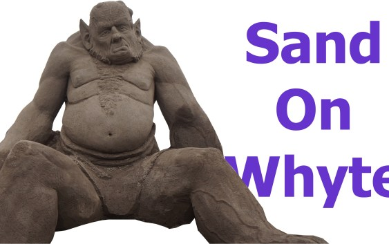 Sand On Whyte Calls You Ogre