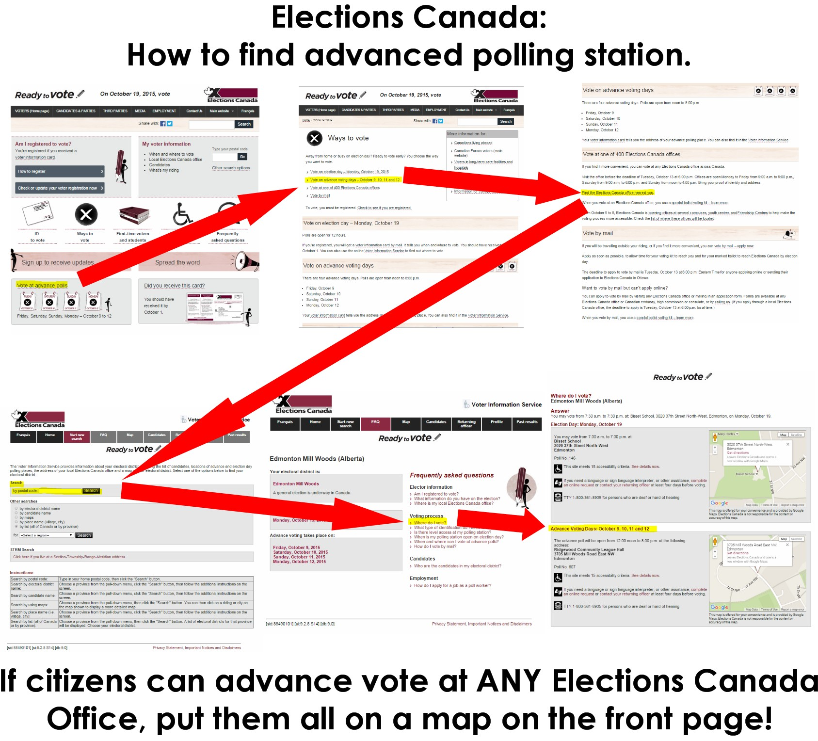 Polling Voting Centers Calgary