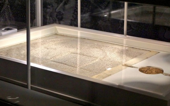 Historic Magna Carta Ends Visit to Canada