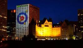 Enlightening History of Lights on Edmonton's Skyline