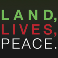 Logo for the Land, Lives, Peace programme