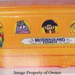 McDonaldland Coach Happy Meal box