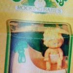CPK Tomy Wind-up Rocking Baby