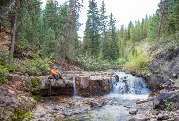 Yellowstone Club provides the perfect setting to pursue wild trout.