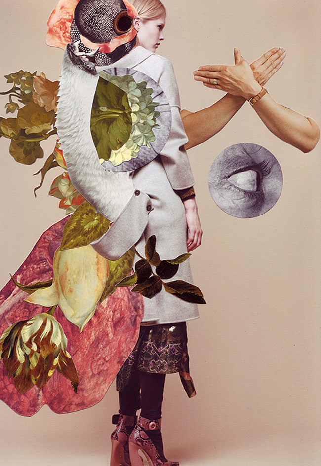 Ashkan Honarvar's Vanitas Collages | Guest Post by The Artful Desperado.