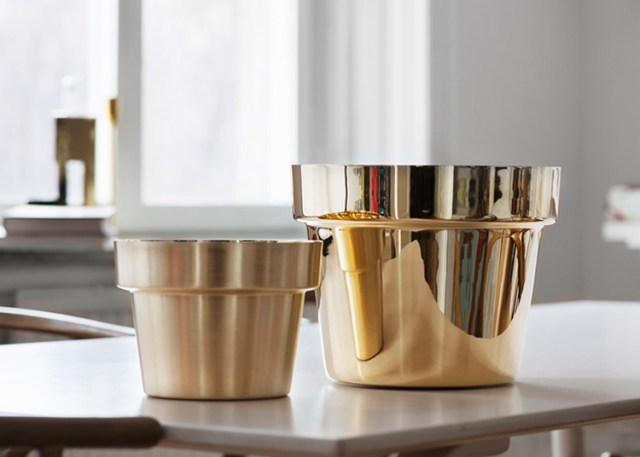 Monica Forster Brassware for Skultuna | Yellowtrace.